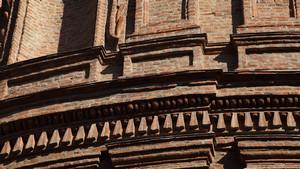 Facciata di Palazzo Carignano. Fotografia diPaolo Mussat Sartor e Paolo Pellion di Persano, 2010. © MuseoTorino-Soprintendenza per i Beni Storici, Artistici ed Etnoantropologici del Piemonte.