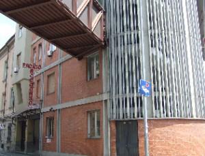 Presidio sanitario Gradenigo. Lato su Corso Regina Margherita. Fotografia L&M, 2011.