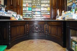 Farmacia Almasio, interno, 2017 © Archivio Storico della Città di Torino