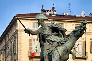 Alfonso Balzico, Monumento a Ferdinando di Savoia duca di Genova (2), 1866-1877. Fotografia di Mattia Boero, 2010. © MuseoTorino.