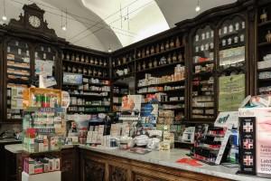 Farmacia Collegiata Ferrero, interno, 2017  ©Archivio Storico della Città di Torino