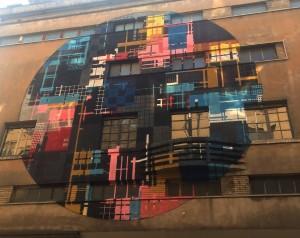 Zedz, murale senza titolo, 2016, teatro Colosseo