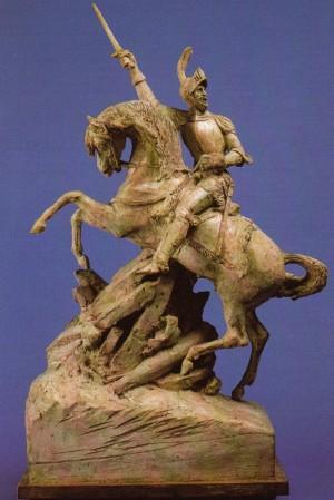 Carlo Marocchetti, Bozzetto del monumento ad Emanuele Filiberto.
