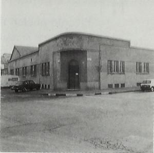 FABBRICA SOC. SILEA, EX BAIER. Fotografia dei primi anni Ottanta