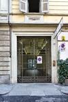 Portone nell'isolato dell'ex Ghetto ebraico, via Maria Vittoria 21. Fotografia di Mattia Boero, 2010. © MuseoTorino