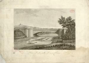 Nuovo Ponte sulla Dora a Torino, 1835