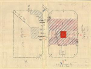 Bombardamenti aerei. Censimento edifici danneggiati o distrutti. ASCT Fondo danni di guerra inv. 785 cart. 16 fasc. 12. © Archivio Storico della Città di Torino