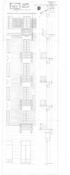 Progetto di edificazione dello stabile del cinema Arco.Archivio Edilizio della Città di Torino, Progetti edilizi, 1929, n. 1/5