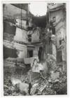 Via Quattro Marzo. Effetti prodotti dai bombardamenti dell'incursione aerea del 30 Novembre 1942. UPA 2411_9C02-32. © Archivio Storico della Città di Torino