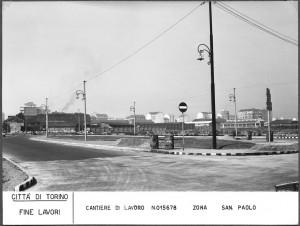 Area vuota e industrie. Fine anni Cinquanta © Archivio Storico della Città di Torino