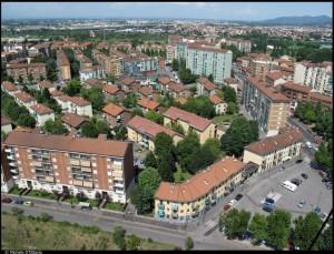 Villaggio rurale, 18° quartiere IACP, vie Ancina, Cravero, Pergolesi, Bologna e Gottardo