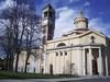 Facciata della parrocchia delle Stimmate di San Francesco su via Livorno. Fotografia di Carlo Pigato, ottobre 2010.