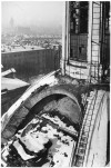 Piazza Carlo Emanuele II, Chiesa Santa Croce.  Effetti prodotti dai bombardamenti dell'incursione aerea dell'8 dicembre 1942. UPA 2645_9F02-32. © Archivio Storico della Città di Torino
