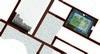 Planimetria della domus con la ricomposizione del mosaico policromo nelle parti mancanti, © Soprintendenza per i Beni Archeologici del Piemonte e del Museo Antichità Egizie