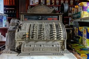 Farmacia della Consolata, registratore di cassa, 2016 © Archivio Storico della Città di Torino