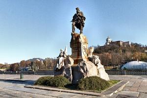Odoardo Tabacchi, Monumento a Giuseppe Garibaldi (3), 1887. Fotografia di Mattia Boero, 2010. © MuseoTorino.
