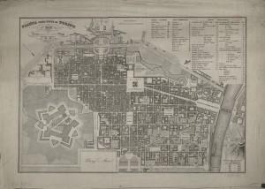 Pianta topografica della città di Torino, 1846