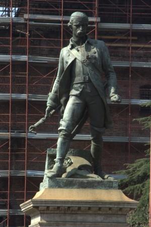 Giuseppe Cassano (1825-1905), Monumento a Pietro Micca. Fotografia di Giuseppe Caiafa, 2011.