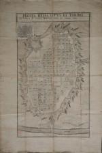 Pianta topografica di Torino (1799)
