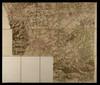 Carta topografica del 1760 in cui si nota il tracciato della strada della Venaria poi nota nell'Ottocento come strada provinciale di Lanzo. ©Archivio di Stato Torino.