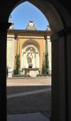Museo di Arti Decorative Accorsi - Ometto. Cortile interno del Palazzo Accorsi. © Fondazione Accorsi - Ometto