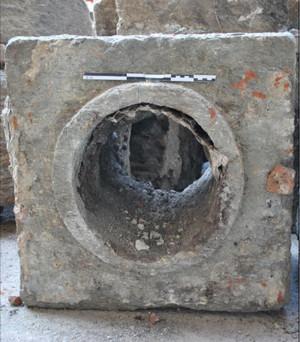 Particolare di uno dei blocchi, © Soprintendenza per i Beni Archeologici del Piemonte e del Museo Antichità Egizie.