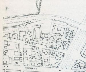 Cascina Gibellino. Istituto Geografico Militare, Pianta di Torino, 1974. © Archivio Storico della Città di Torino