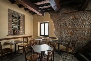 Abrate, bar-tavola calda; ex pasticceria. Saletta, 2017 © Archivio Storico della Città di Torino