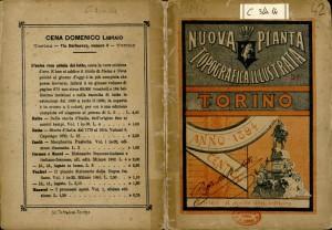 Nuova pianta di Torino, 1894. Biblioteca civica centrale, Cartografico  3/4.14. 01 © Biblioteche civiche torinesi