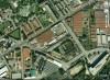 Magazzino del Genio Militare. Fotografia aerea dell'area adibita a magazzino del Genio militare.