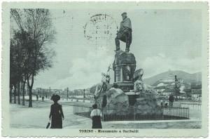 Odoardo Tabacchi, Monumento a Giuseppe Garibaldi, 1887. © Archivio Storico della Città di Torino