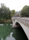 Veduta del ponte di Sassi dal fondo di corso Belgio. Fotografia di Edoardo Vigo, 2012.
