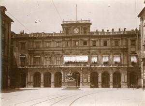Palazzo di Città. Fotografia di Mario Gabinio, 25 giugno 1924. © Fondazione Torino Musei - Archivio fotografico