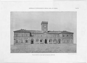 Arsenale Militare, facciata del fabbricato occupato dagli uffici. © Archivio Storico della Città di Torino