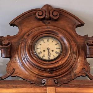 Profumeria dell'Università, particolare dell'orologio, 2017 © Archivio Storico della Città di Torino