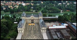 Veduta aerea del Castello del Valentino. Fotografia di Michele D'Ottavio, 2009. © MuseoTorino