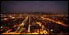 Panoramica serale della città dal futuro grattacielo Intesa Sanpaolo. Fotografia di Michele D'Ottavio, 2009. © MuseoTorino