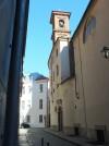 Santa Maria di piazza e sul fondo piazzetta Andrea Viglongo. Fotografia di Paola Boccalatte, 2014. © MuseoTorino