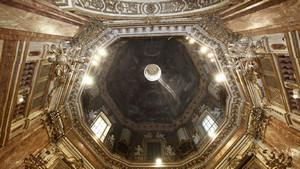 Veduta interna della cupola del Santuario della Consolata. Fotografia diPaolo Mussat Sartor e Paolo Pellion di Persano, 2010. © MuseoTorino