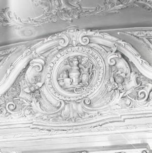 Platti Caffè Confetteria, stucchi della caffetteria, 1998 © Regione Piemonte