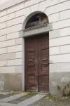 L'accesso in corrispondenza della testata est della manica di chiusura settentrionale del complesso. Fotografia di Enrico Lusso per Museo Torino.