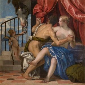 Paolo Caliari detto il Veronese, Venere e Marte, 1575 – 1580 circa, olio su tela. Torino, Musei Reali - Galleria Sabauda