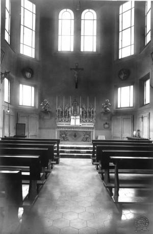 Il Birago di Vische. La cappella scomparsa nella ristrutturazione avvenuta nel 2000. © Archivio Storico Relazioni Esterne ASL1.