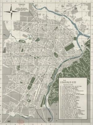 TORINOino. Anno 1985. Biblioteca civica centrale, Cartografico  3/4.1.a © Biblioteche civiche torinesi