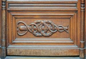 Farmacia Anglesio, particolare della porta, 2017 © Archivio Storico della Città di Torino