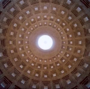 Pantheon di Mirafiori, interno della cupola © EUT 10
