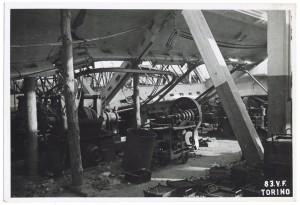 Villar Perosa (Torino) s.l. Stabilimento RIV. Effetti prodotti dai bombardamenti dell'incursione aerea del 3 gennaio 1944. UPA 4323_9E05-14 © Archivio Storico della Città di Torino/Archivio Storico Vigili del Fuoco