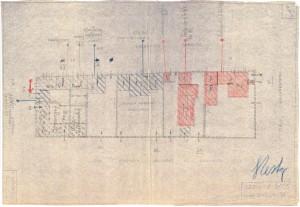 Bombardamenti aerei. Censimento edifici danneggiati o distrutti. ASCT Fondo danni di guerra inv. 2025 cart. 41 fasc. 31. © Archivio Storico della Città di Torino