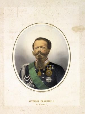 Vittorio Emanuele II (Torino 14 marzo 1820 - Roma 9 gennaio 1878)