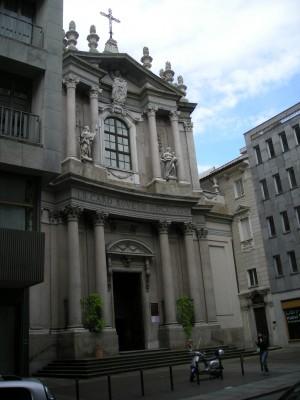 Chiesa di Santa Teresa. Fotografia di Daniele Trivella, 2013